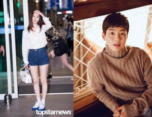 Krystal and Jang Dong Yoon